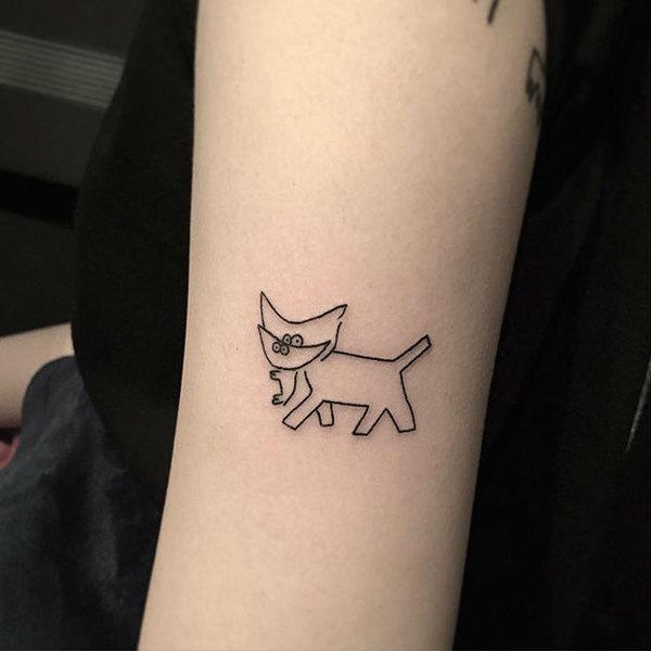 Лучшие татуировки с кошками, что вы когда-либо видели!