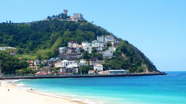 Resultado de imagen de playas san sebastian