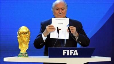 Imagen de archivo de Blatter. Foto: EFE