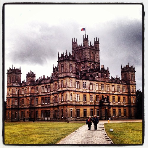 palacio de downton abbey