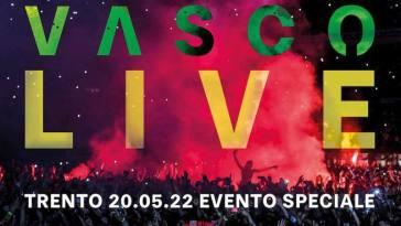 Vasco Rossi, a Trento il ritorno sul palco nel 2022 con 100 mila spettatori