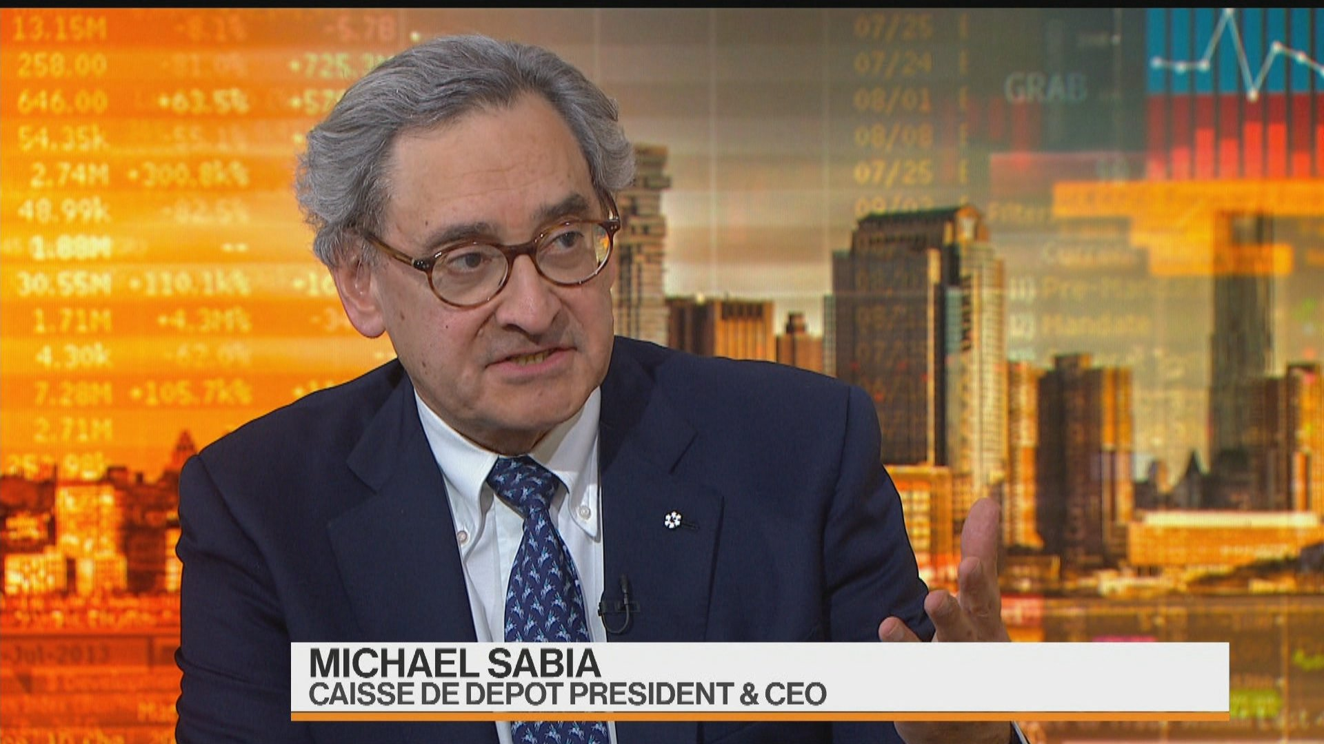 caisse ceo trade uncertainties have