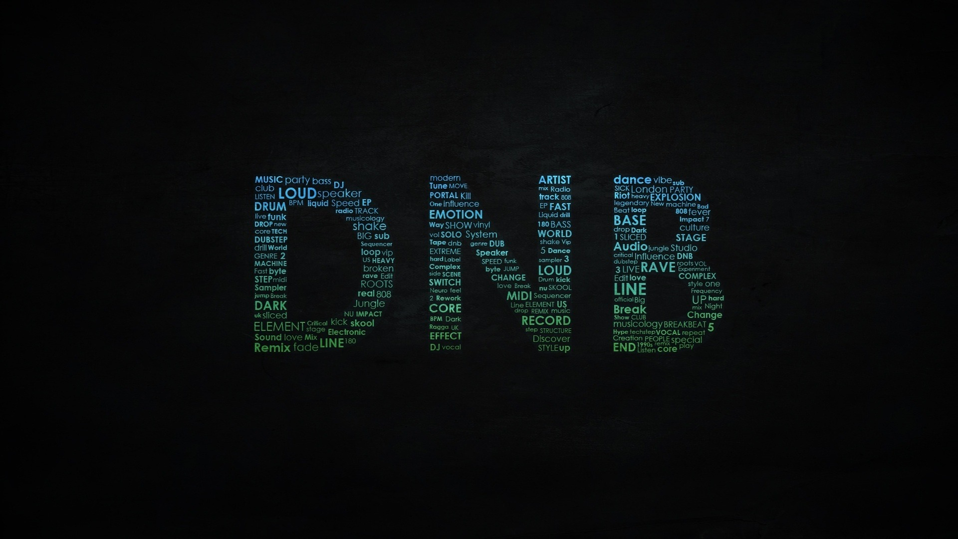 Drum And Bass Full HD Wallpaper And Background 1920x1080