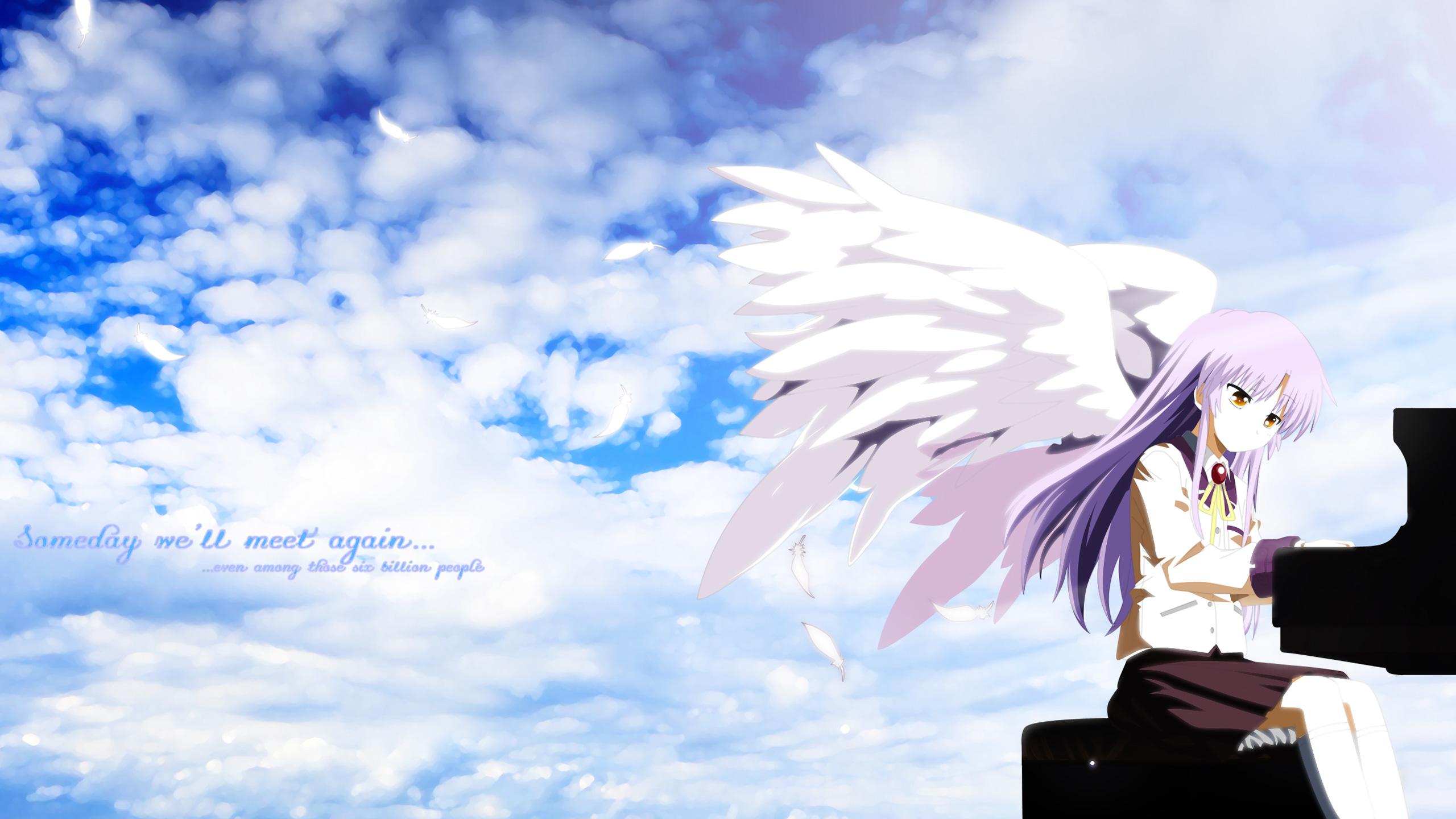 Angel Beats HD Wallpaper Background Image 2560x1440