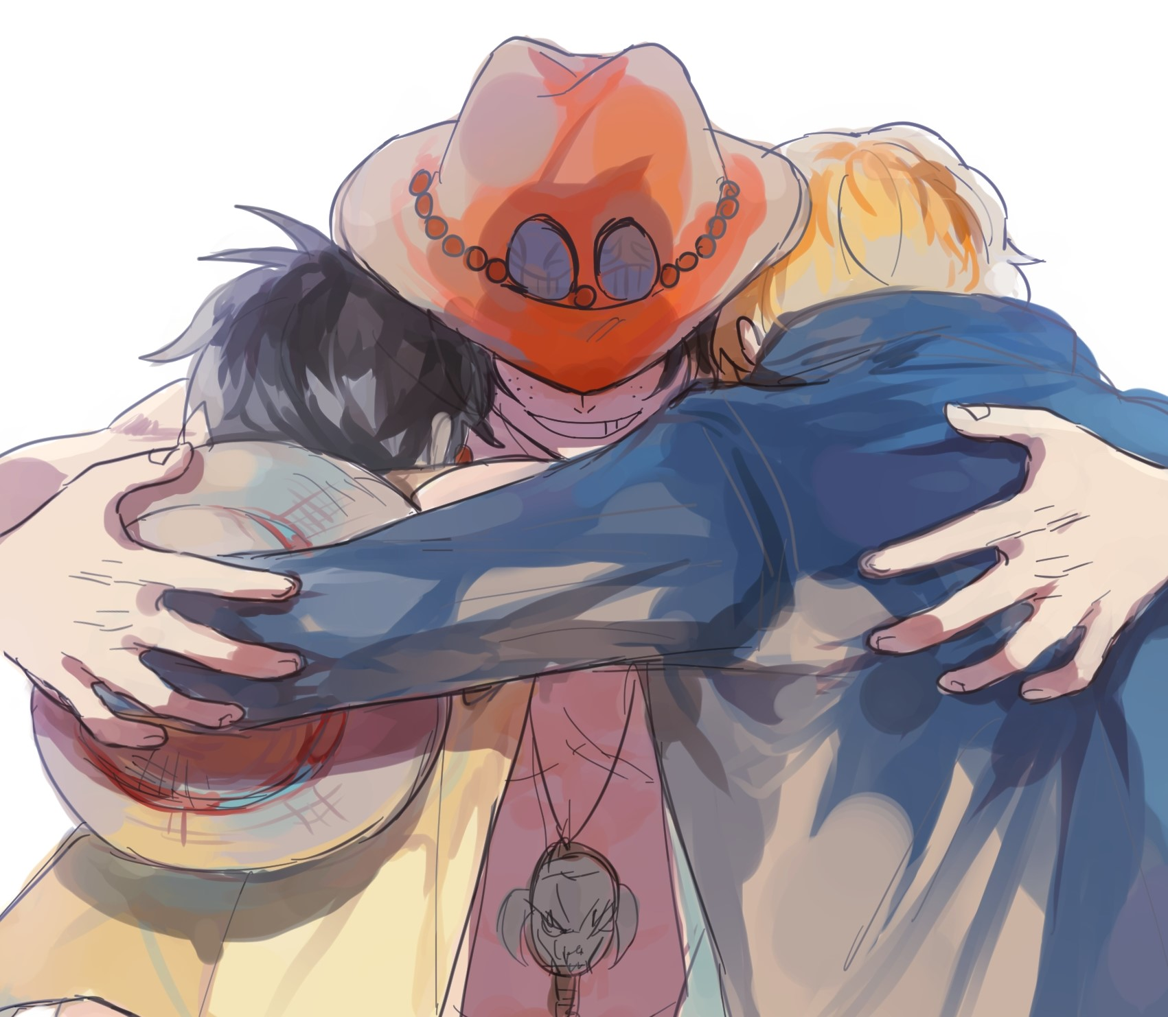 Browse for more hd, 4k,. Luffy, Ace, Sabo Wallpaper and Background Image | 1701x1482