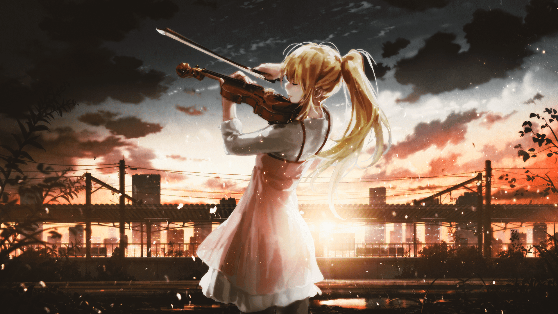 Zerochan has 312 shigatsu wa kimi no uso anime images, wallpapers, hd wallpapers, android/iphone wallpapers, fanart, facebook covers, and many more in its. Your Lie in April HD Wallpaper | Background Image ...