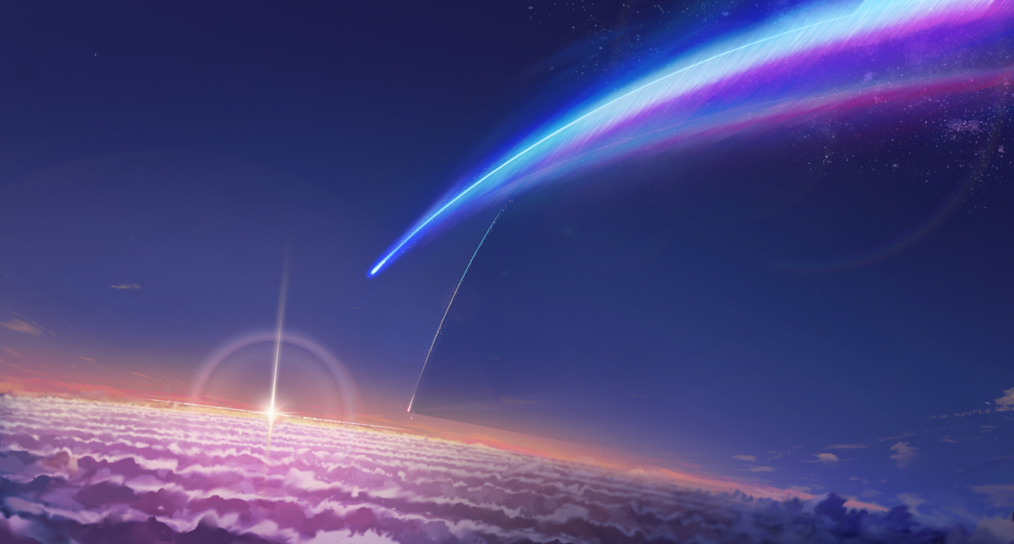 Discover more posts about kimi no na wa lockscreens. Your Name. HD Wallpaper   Background Image   2012x1080 ...