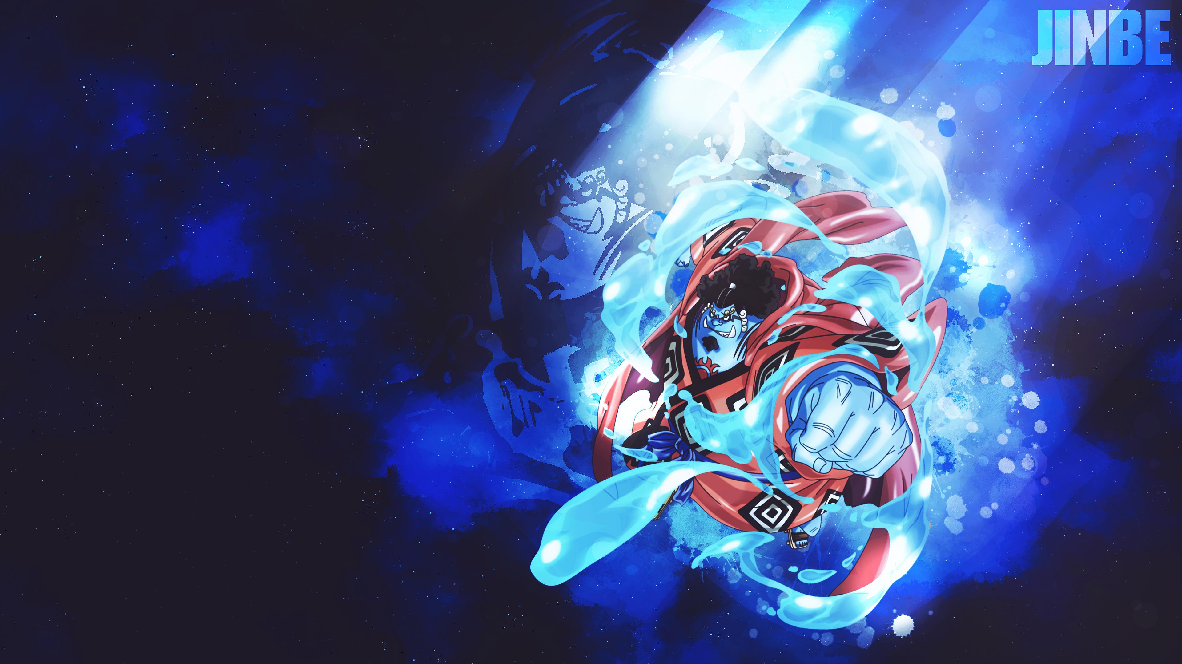 Resolution hd, ultra hd, 4k, 5k. Jinbe (One Piece) 4k Ultra HD Wallpaper | Background Image ...