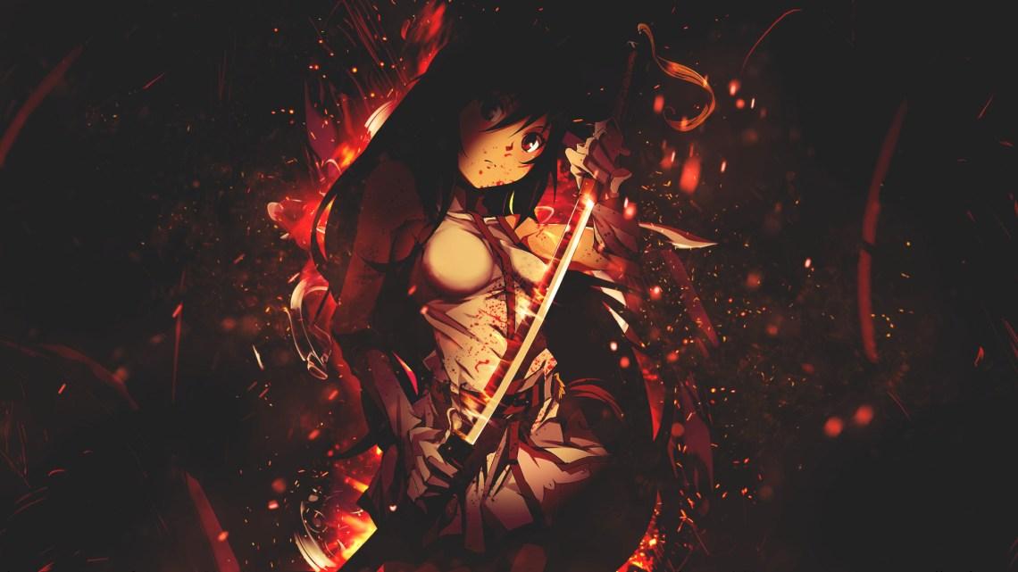 Blade Anime Girl Hd Wallpaper Background Image 1920x1080