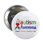 "Autism Awareness 2.25"" Button (10 pack)"