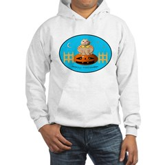 Halloween Kitty Hooded Sweatshirt