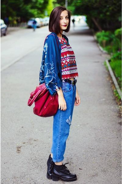Choies Tops Aztec Choies Tops Boyfriend Sammydress Jeans