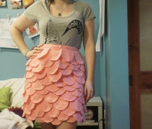 Pink Dino Skirt