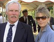 Ted Turner e Jane Fonda