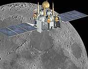 La sonda automatica Luna-Glob (da Roscosmos)
