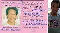 L'immagine del cartellino di Alex Del Piero sulla sua pagina Facebook