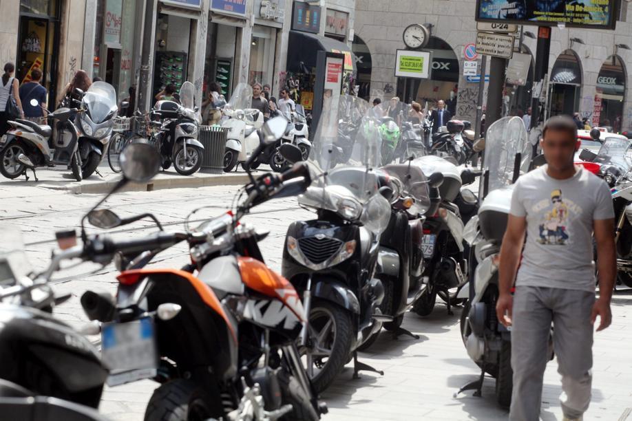 In grave crisi anche gli scooter