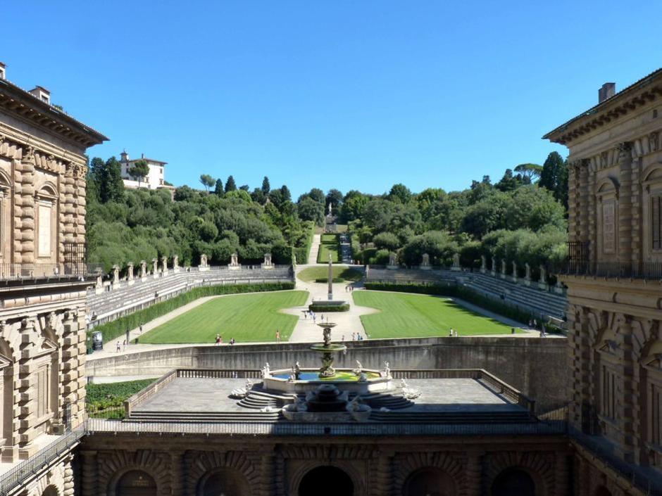 Un'altra immagine del giardino di Boboli