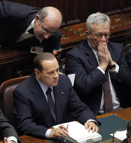 Berlusconi e Tremonti (LaPresse)