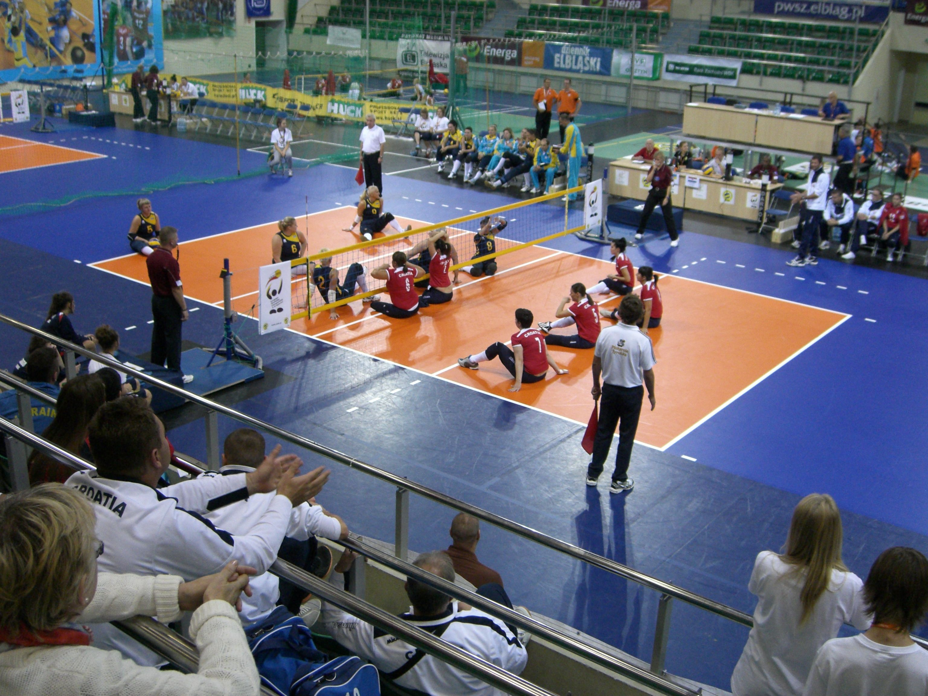 Gli europei di sitting volley in Polonia nel 2013