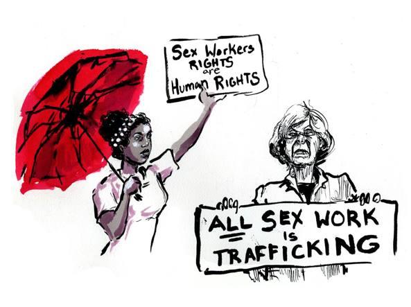 L'illustrazione di Molly Crabapple per «la Lettura»