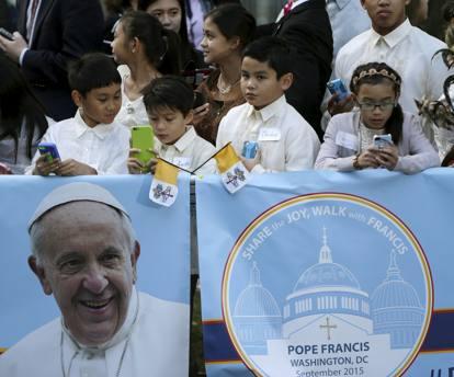 Washington, il Papa parla al Congresso