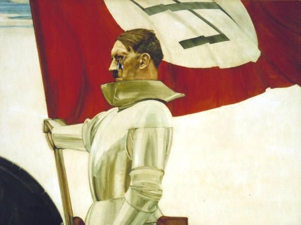 Hubert Lanzinger, «Der Bannertraeger», (1933)