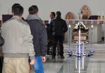 I funerali dei tecnici  uccisi in Libia
