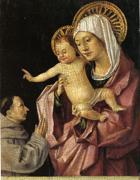 Madonna col Bambino benedicente,di Antonello da Messina