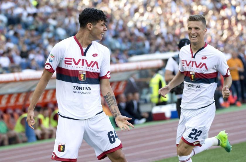 Pietro Pellegri ha appena segnato il suo primo gol in Serie A