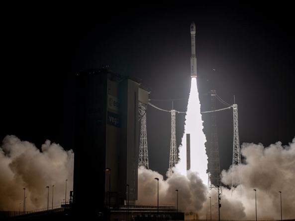Il lancio di Prisma dalla base di Kourou in Guyana francese