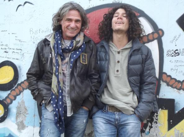Franco Antonello and his son Andrea (photo from the facebook profile of Franco Antonello)