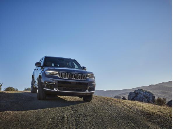 The fifth generation of the Jeep Grand Cherokee