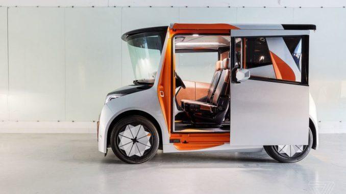 Reds इलेक्ट्रिक वाहन क्रिस बैंगल द्वारा डिज़ाइन किया गया