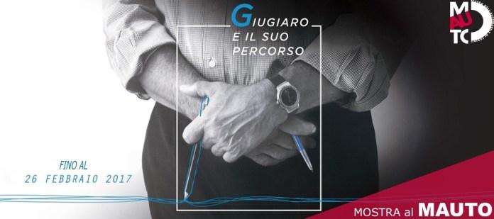 Giugiaro, 2016 पर प्रदर्शनी का पोस्टर