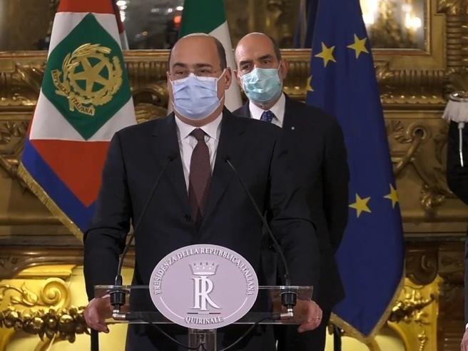Zingaretti: «Disponibili a sostenere incarico a Conte, punto di sintesi»