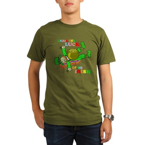 Leprechaun Under Pot of Gold Tee