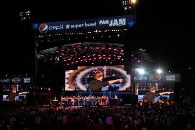 Events > 2010 > February 4th - Pepsi Super Bowl Fan Jam ...