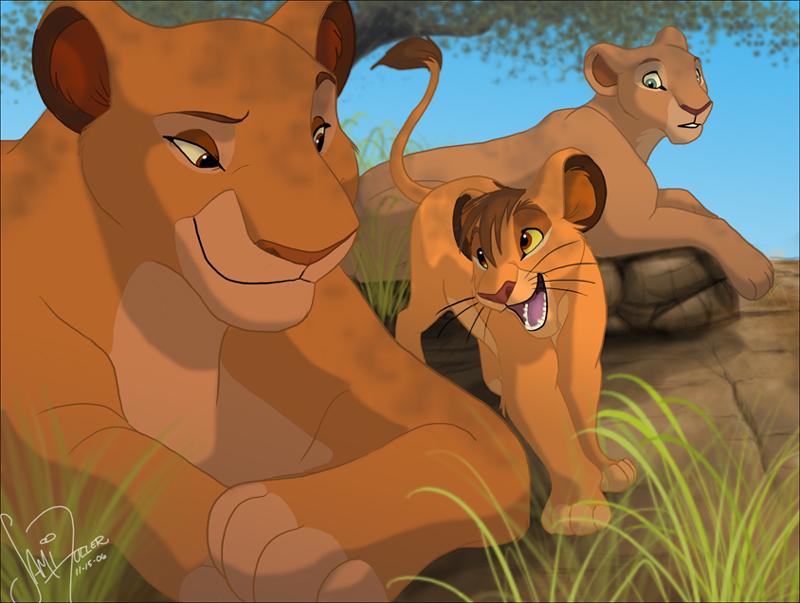 Lion Title King Tree Family