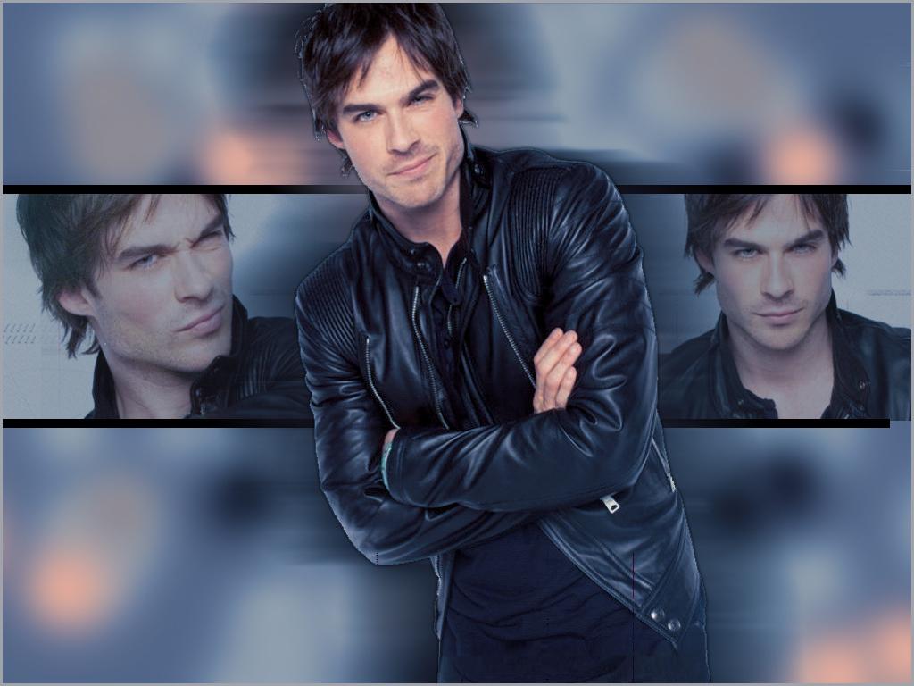 Ian aka Damon - ian-somerhalder wallpaper