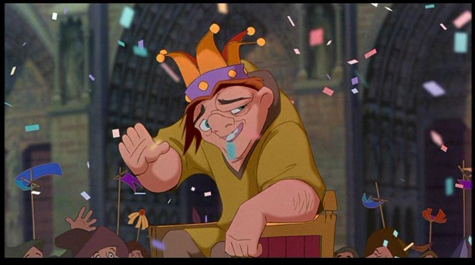 Image result for the hunchback of notre dame disney film