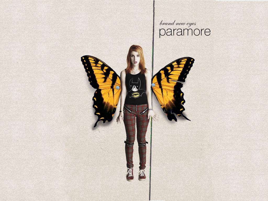 Brand New Eyes Paramore Album Cover