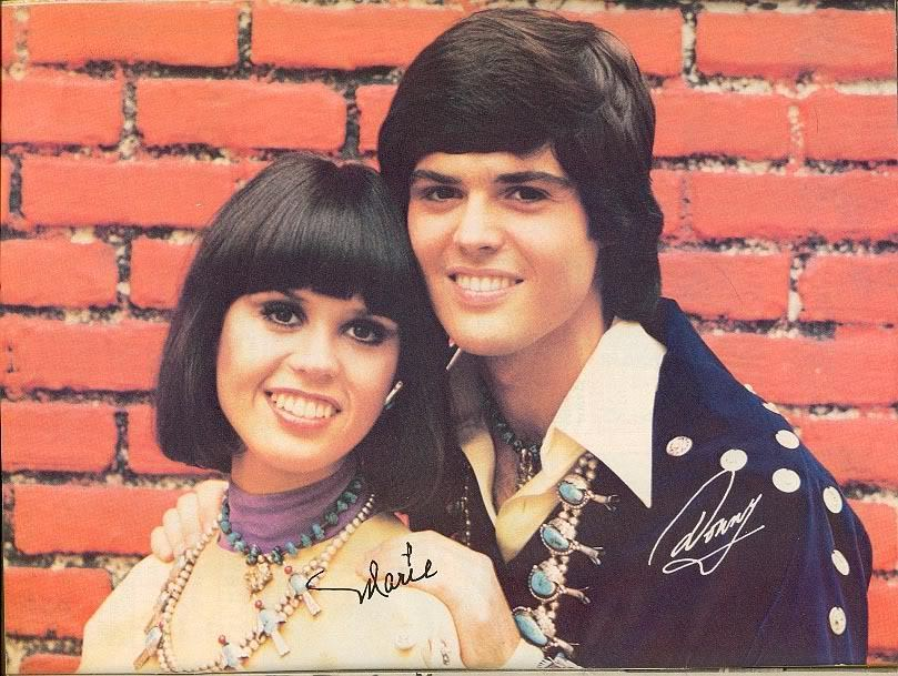 Donny And Marie Osmond Show Wallpaper