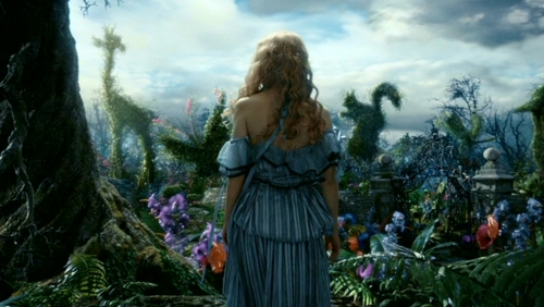 Alice In Wonderland Rabbit Tim Burton Wallpaper