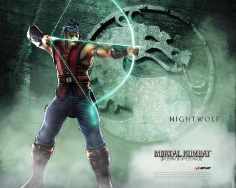 Resultado de imagen para nightwolf mk wallpaper