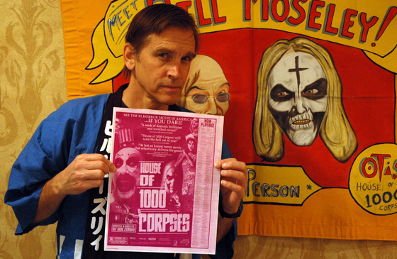 The many faces of Bill Moseley