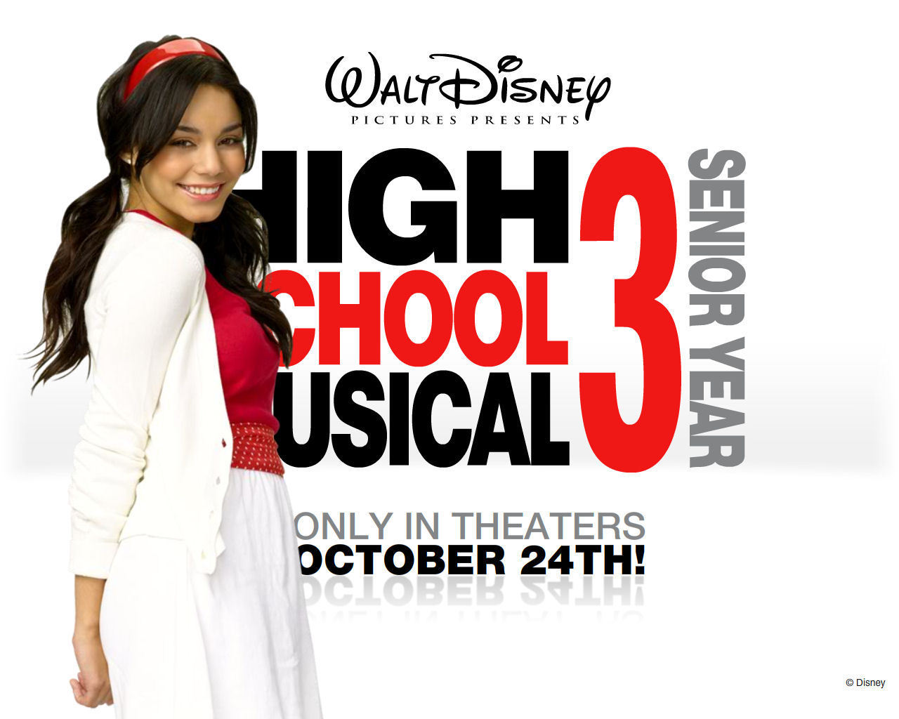 vanessa hudgens - High School Musical 3 1280x1024