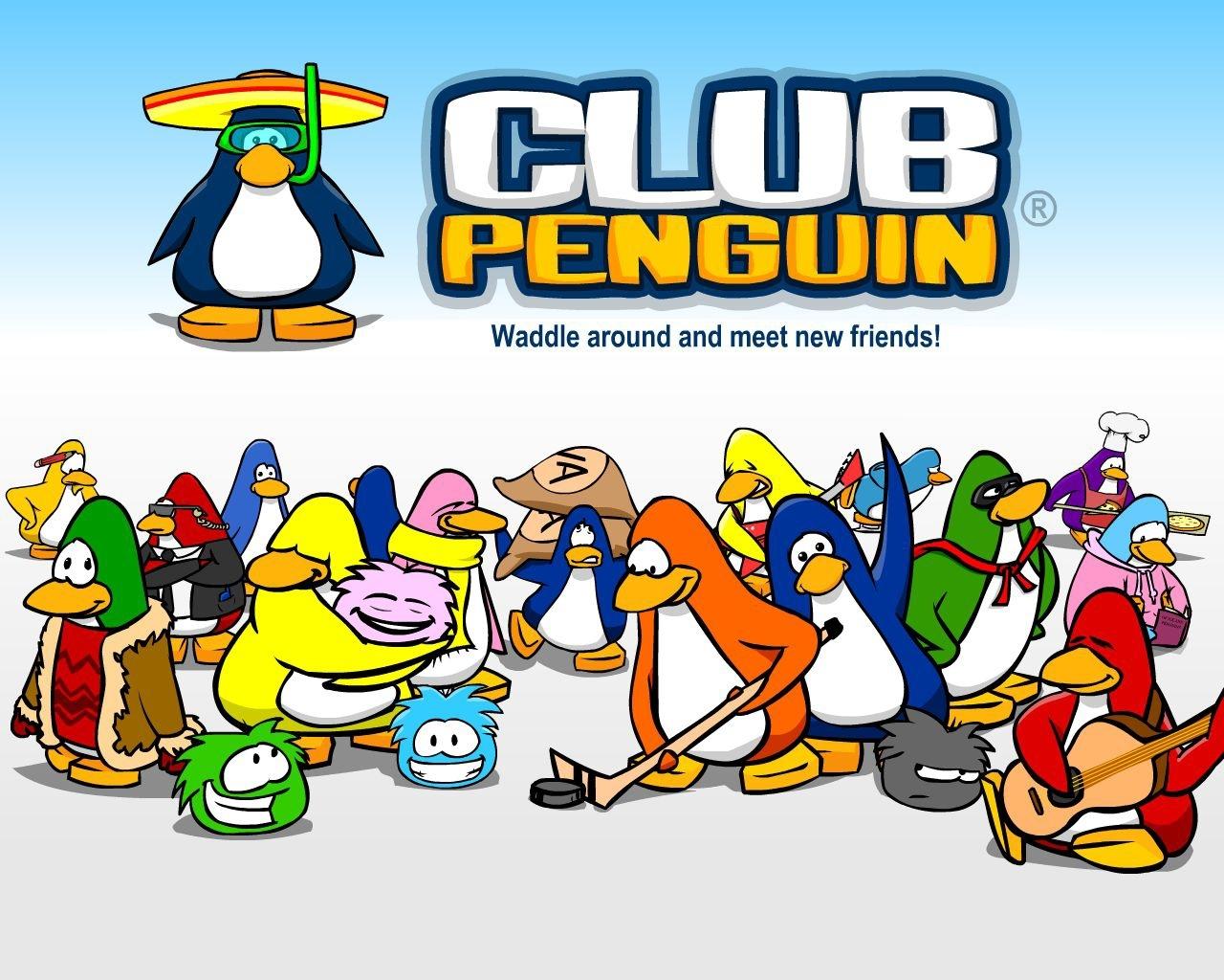 Penguin Game Puffles Club