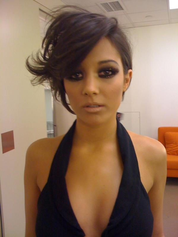 Frankie Sandford Short Hair Back View