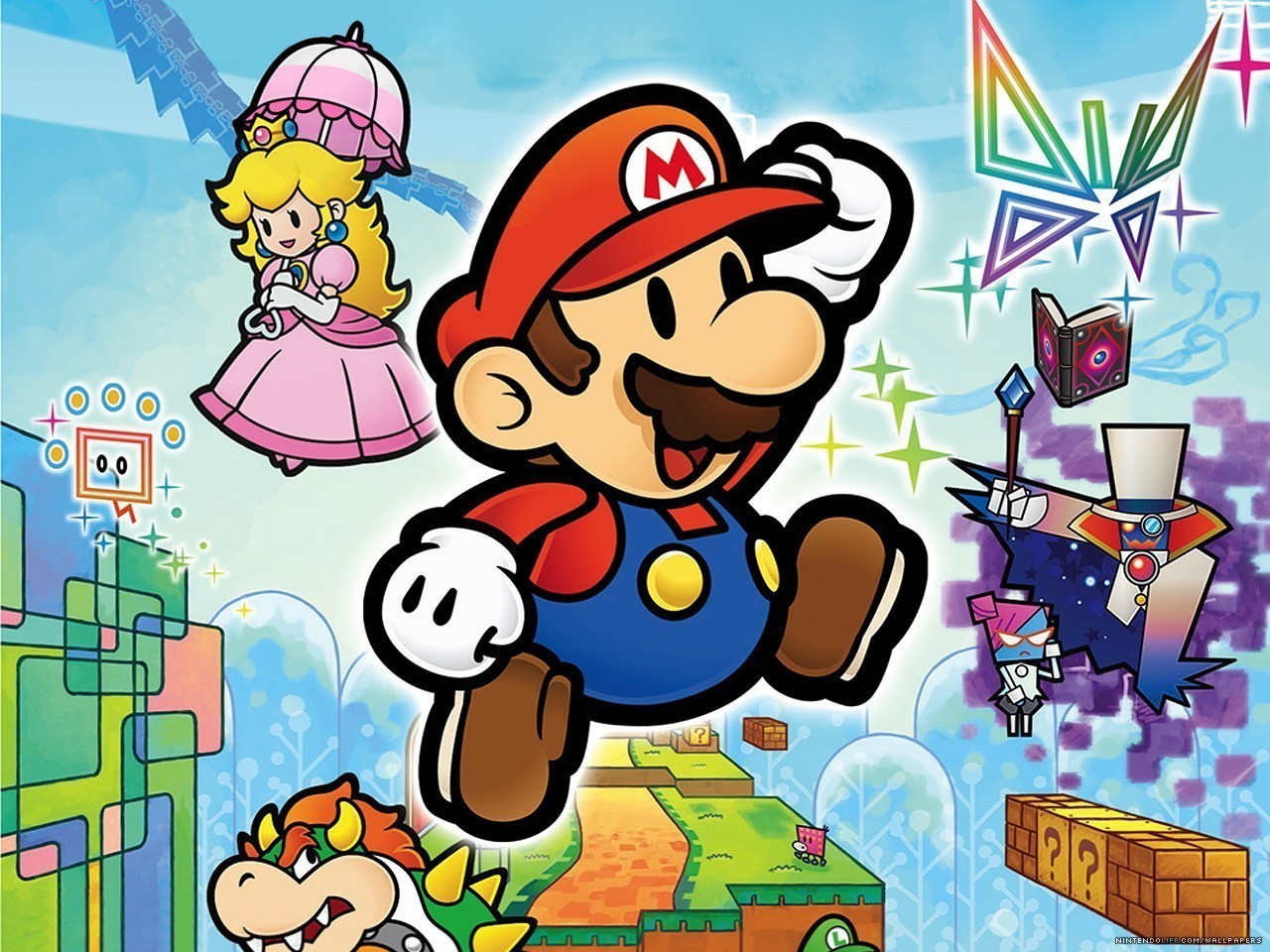 The Past And Present Paper Mario Series Warp Zone Gaming